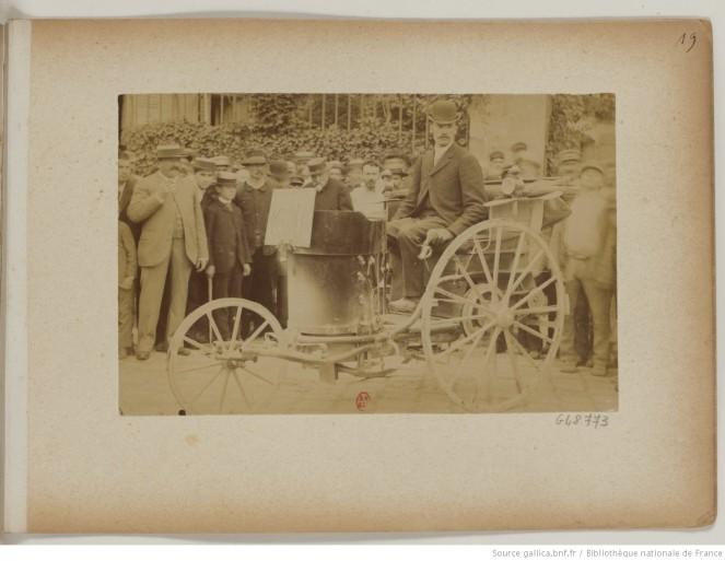 photo 19 n°61 Mr R de Montais pétrole et vapeur 2 places