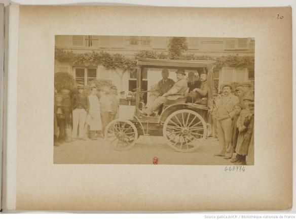 photo 20 n°64 Mrs Panhard et Levassor pétrole 4 places