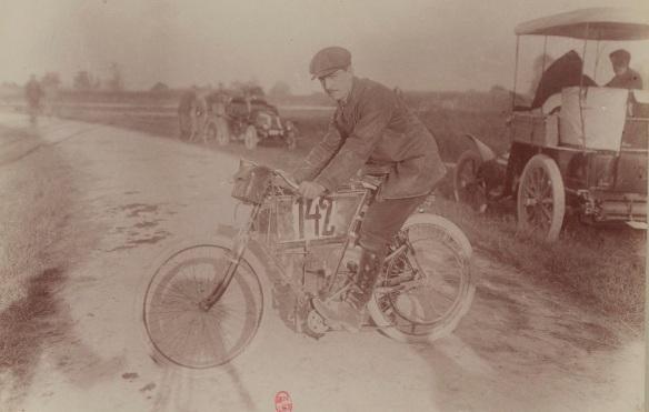 motocyclette Werner
